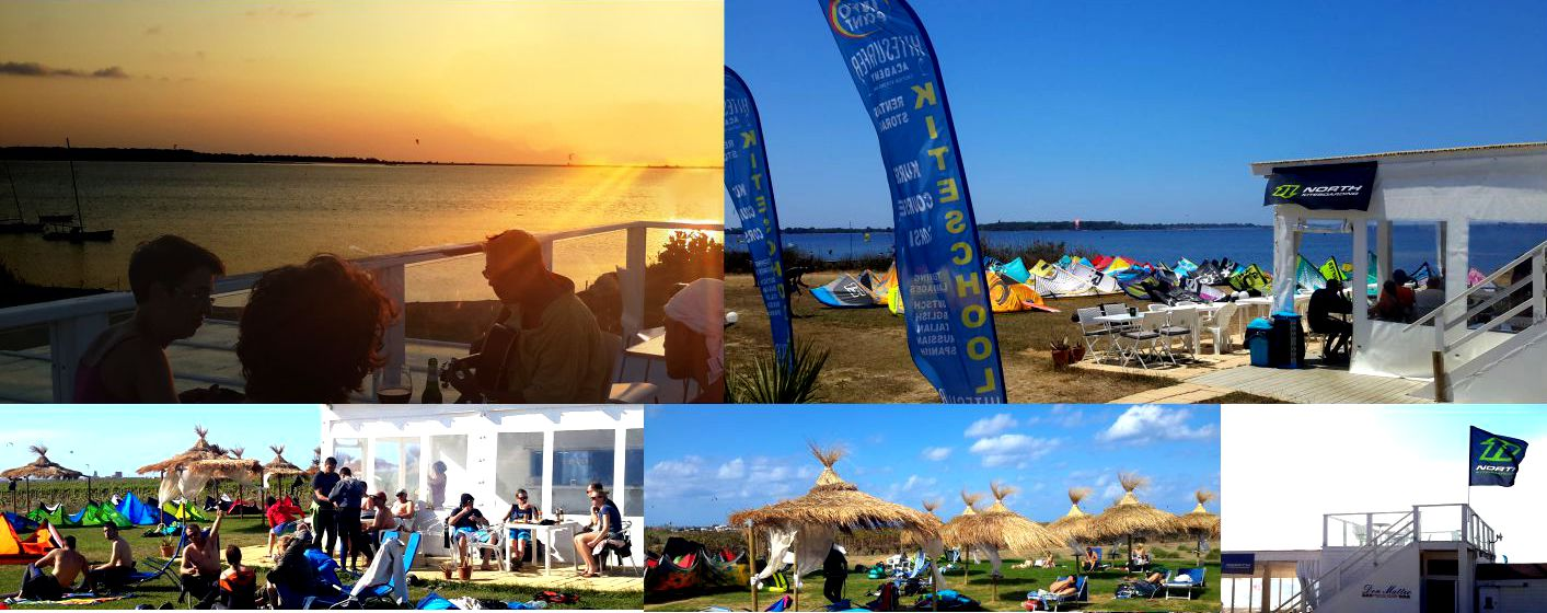 Kitesurf Stagnone  At a Super Kite Station where you will get the best Service